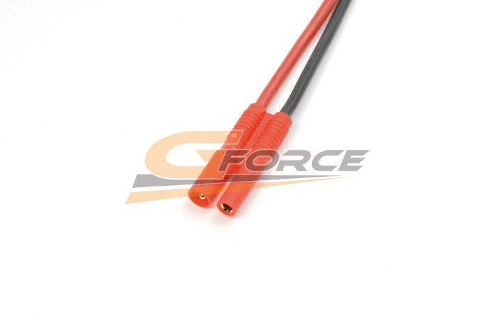Gforce 2.0mm Gold Connector. Male. Silicon Wire 20Awg. 10Cm 1Pc