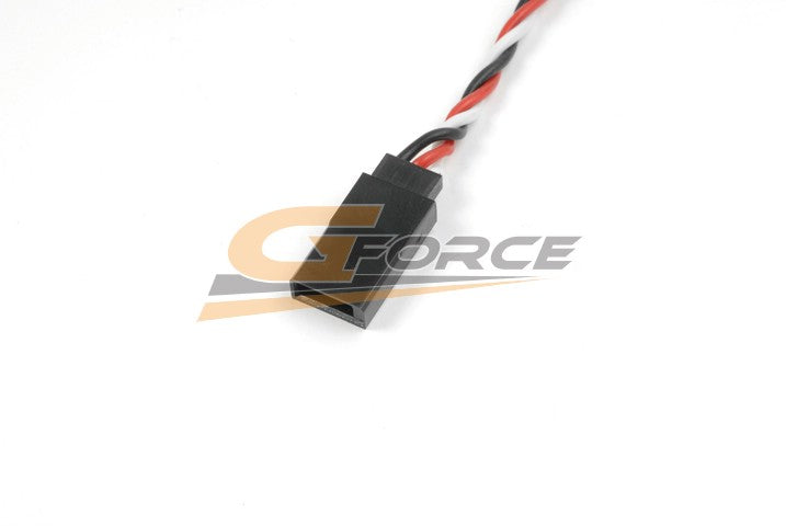 Gforce Servo Lead Twisted Futaba. Female. 22Awg. 30Cm 1Pc