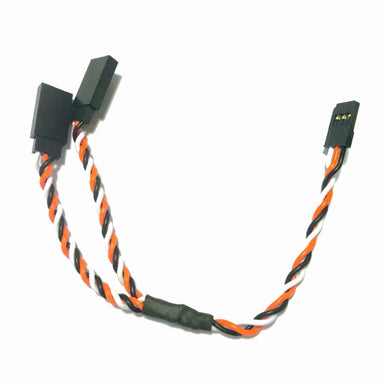 G-Force RC Servo Y-Lead Twisted Futaba 22AWG/60 Strands 15cm 1pc