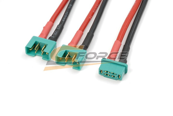 Gforce Y-Lead Parallel Mpx. Silicon Wire 14Awg 1Pc