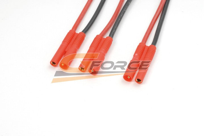 Gforce Y-Lead Serial 2mm Gold Connector. Silicon Wire 20Awg 1Pc