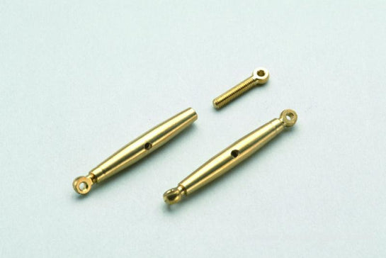 Gforce Precision Tension Couplers M2. Brass 2Pcs