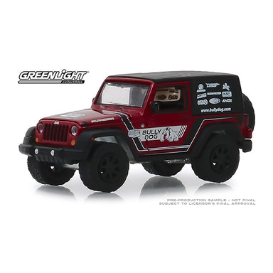 Greenlight 1/64 Bully Dog 2012 Jeep Wrangler