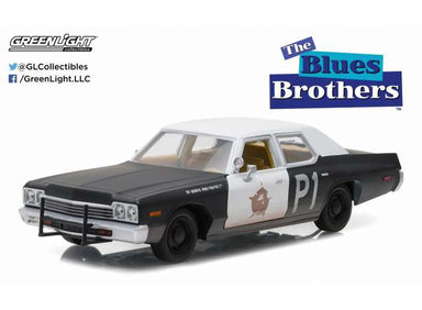 Greenlight 1/24 1974 Dodge Monaco Bluesmobile