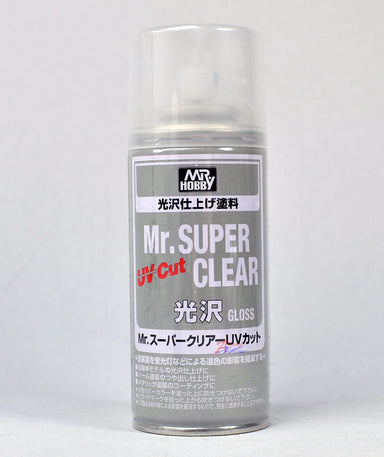 Mr Hobby Mr Super Clear Uv Cut Gloss Spray