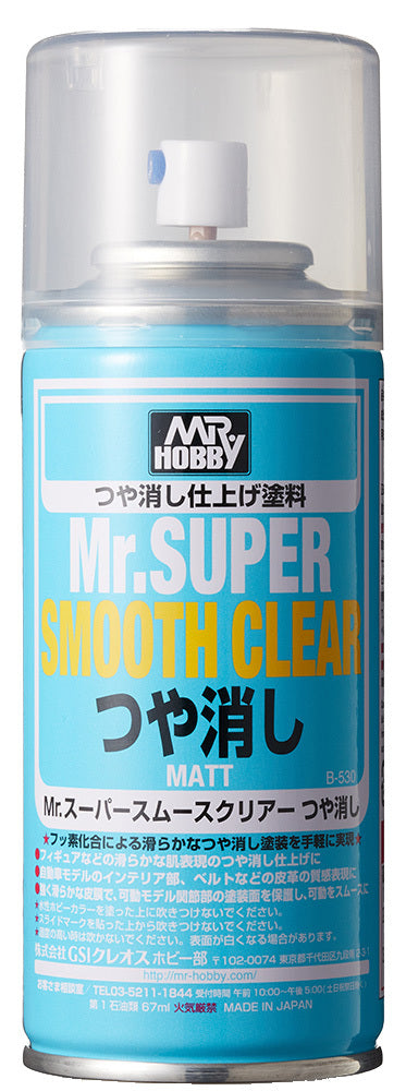 Mr Hobby Mr Super Smooth Clear Matt