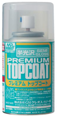 Mr Hobby Mr Premium Top Coat Semi Gloss 88ml