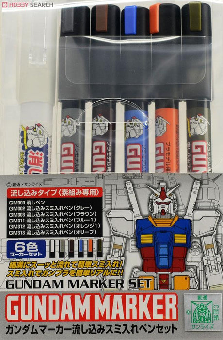 Mr Hobby Gundam Pouring Ink Master Set