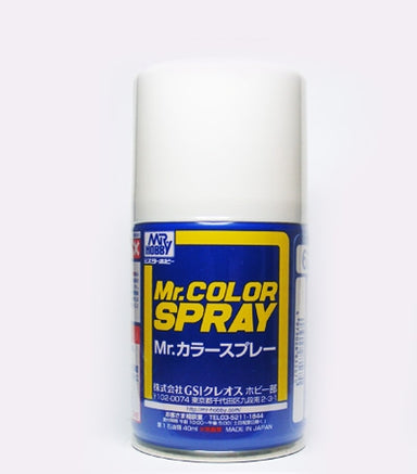 Mr Hobby Mr Color 62 Flat White Spray
