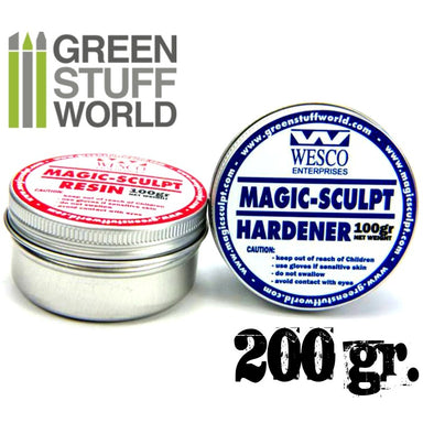 GSW Magic Sculpt 2 Part Epoxt Putty (200G)