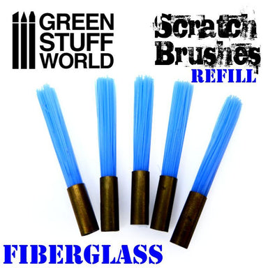 GSW Fibre Glass Scratch Brush Refill (5)