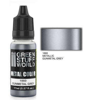 GSW Metallic Paint Gunmetal Grey 17ml