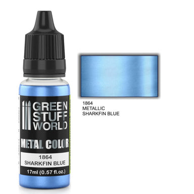 GSW Metallic Paint Sharkfin Blue 17ml