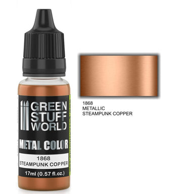 GSW Metallic Paint Steampunk Copper 17ml
