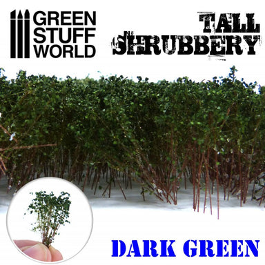 Gsw Tall Shrubbery Dark Green 4Cm