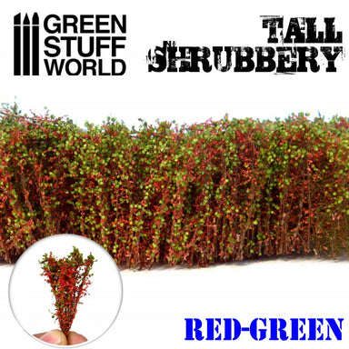 Gsw Tall Shrubbery Red Green 4Cm