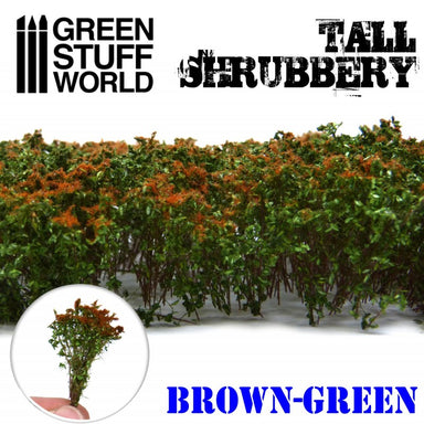 Gsw Tall Shrubbery Brown Green 4Cm