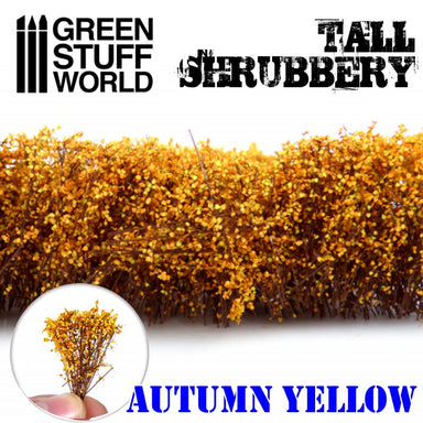Gsw Tall Shrubbery Autumn Yellow 4Cm