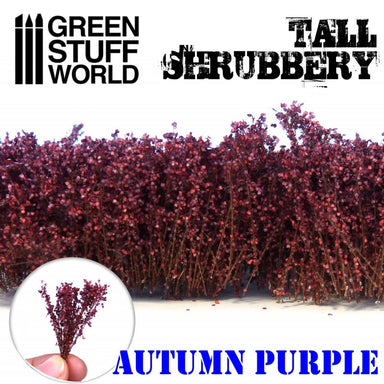 Gsw Tall Shrubbery Autumn Purple 4Cm