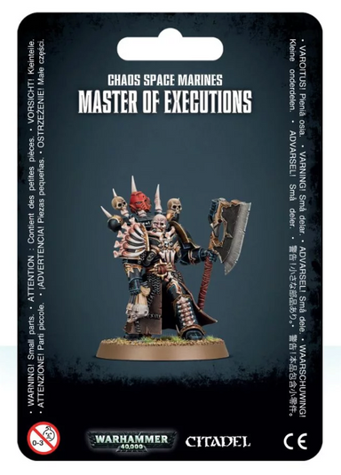 GW 43-44 Chaos Space Marines Master of Executions