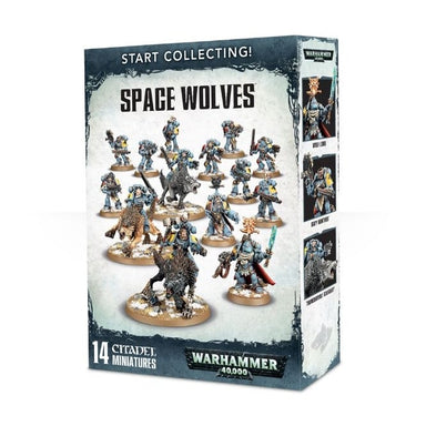 Warhammer 40000 70-53 Start Collecting! Space Wolves