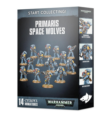 GW 70-53 Start Collecting! Primaris Space Wolves