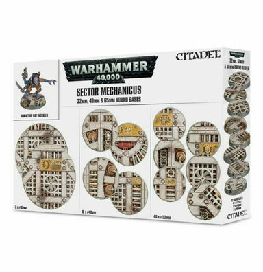 GW 66-95 Sector Mechanicus: Industrial Bases