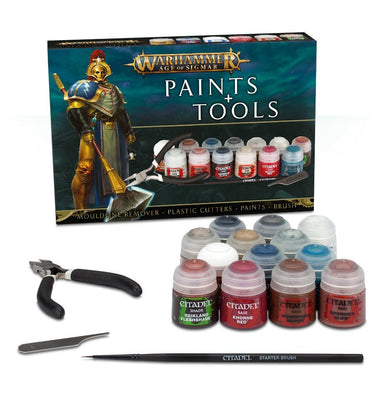 GW 80-17 Age of Sigmar Paints and Tools