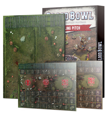 GW 202-03 Blood Bowl Double-sided Snotling Pitch and Dugout Set