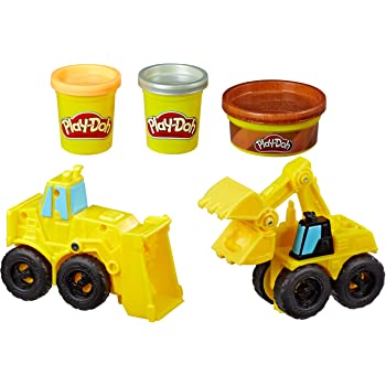 Play Doh Excavator and Loader