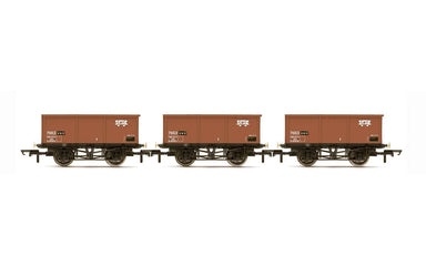 Hornby Br 27T Msv Iron Ore Tipplers Three Pack - Era 7 (2020 Release)