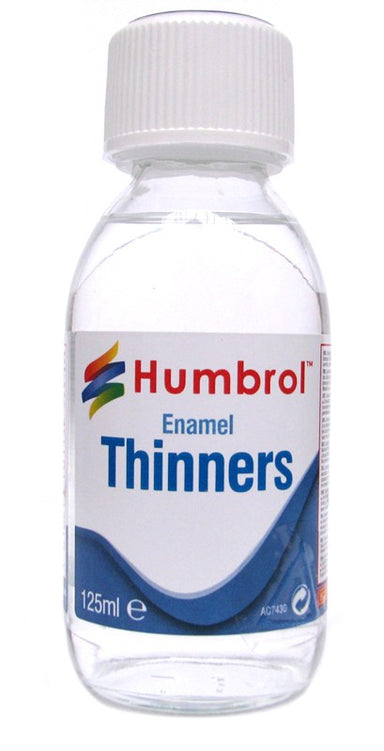 Humbrol Enamel Thinners Bottle 125ml