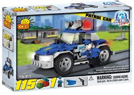 Cobi Action Town Patrol Car 115Pc