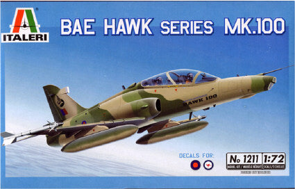 Italeri 1/72 Hawk Mk.100 Plus Aus Decals