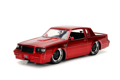 Jada 1/24 Bigtime Muscle Red 1987 Buick Grand National Red