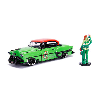 Jada 1/24 Poison Ivy With 1953 Chevy Bel Air Bombshells Movie