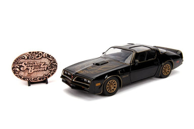 Jada 1/24 1977 Pontiac Firebird with Smokey and The Bandit Replica Buckle