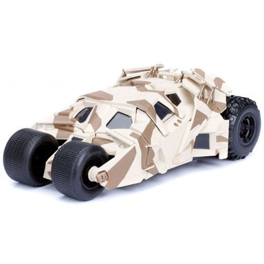 Jada 1/24 2008 The Dark Knight Batmobile With Batman Figure Camo Version