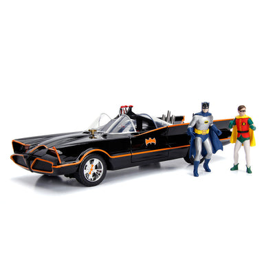 Jada 1/18 1966 Classic Tv Series Batmobile With Figure