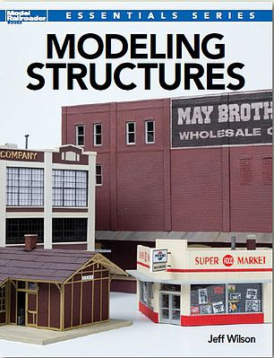 Kalmbach Modeling Structures - Softcover, 96 Pages