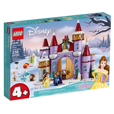 LEGO 43180 Disney Belles Castle Winter Celebration