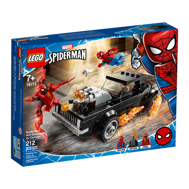 LEGO® 76173 Super Heroes Spider-Man and Ghost Rider vs. Carnage
