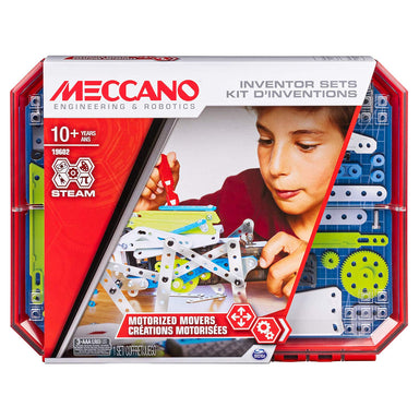 Meccano 19602 Innovation Sets Motorised Movers