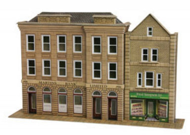 Metcalfe P0271 Low Relief Bank And Shop