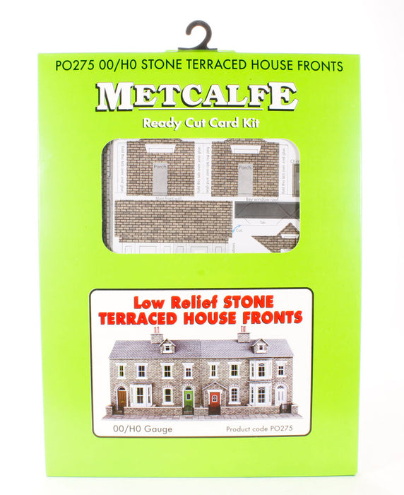 Metcalfe P0275 Oo/Ho Low Relief Stone Terraced House Fronts