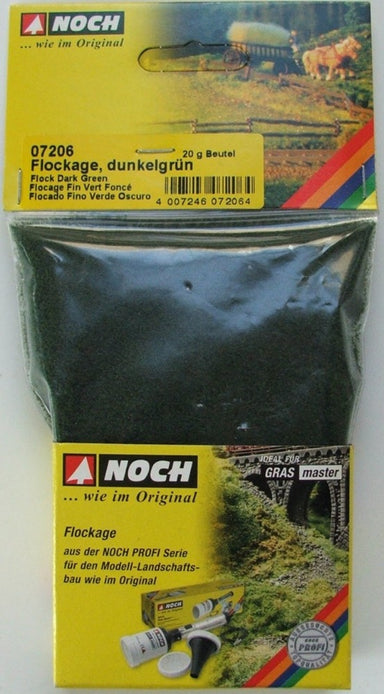 Noch 07206 Fine Flock Dark Green 20G