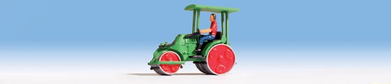 Noch 16766 HO Zettlemeyer Road Roller Green
