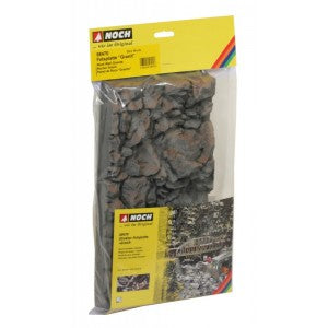 Noch 58470 HO Granite Rock Wall 32X16Cm