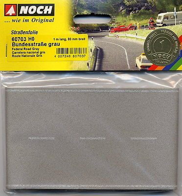 Noch 60703 HO Federal Road 1Mx80mm Grey