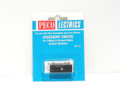 Peco PL-13 Accessory Switch For Turnout Motor